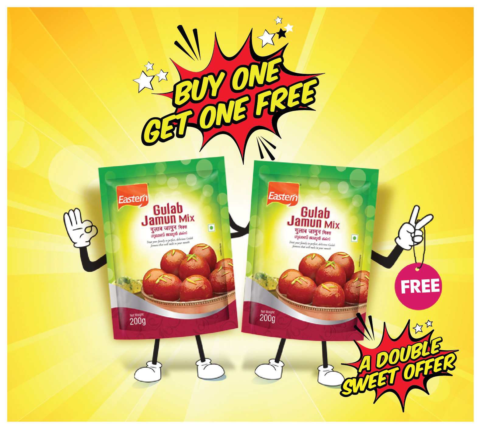 Gulab Jamun Buy one Get one Free