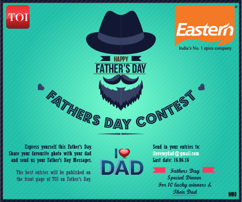 #ILoveDad Fathers day