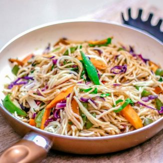 Veg Stir Fry Noodles