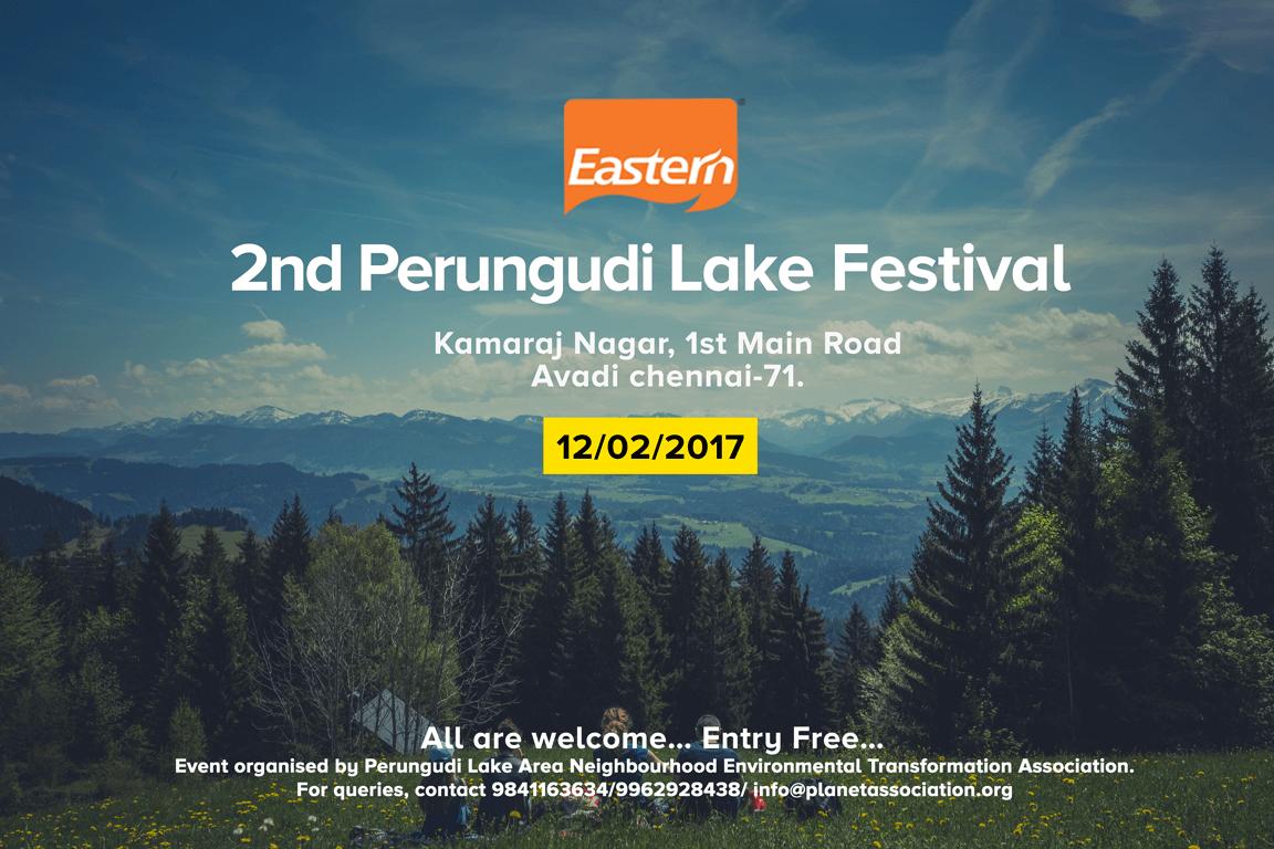 Perungudi Lake Festival 2017