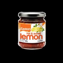 Hot and Sweet Lemon Pickle