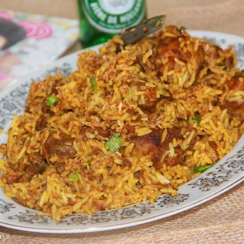 Thengapalinte Biriyanikinnaram Kerala Style Chicken Biryani In
